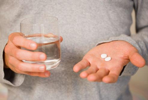 taking medication