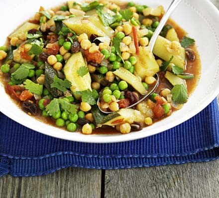 chickpea and vegetable